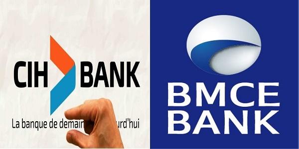 Recrutement (5) postes BMCE BANK et CIH BANK