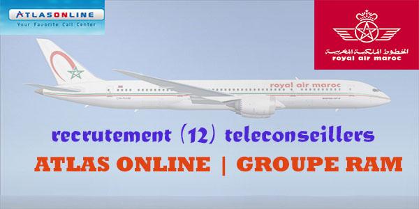 Recrutement (12) Téléconseillers chez Atlas On Line (groupe RAM)