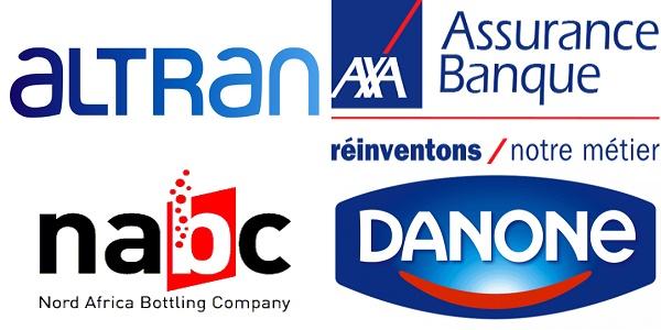 Recrutement (6) postes chez Altran , Axa Assurance , Danone et NABC