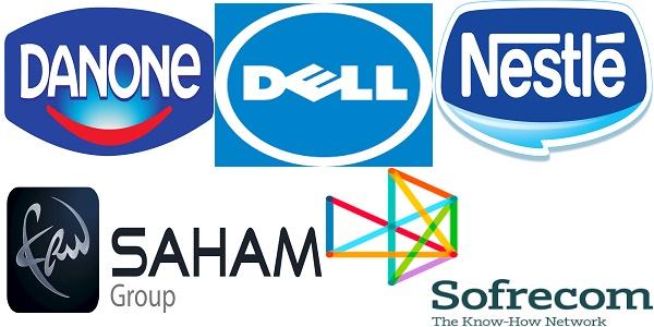 Recrutement (8) postes chez Nestlé, Sofrecom , Saham Group , Danone et Dell