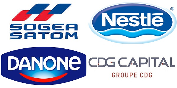 Recrutement (5) postes chez Danone , Sogea , Nestlé et CDG Capital