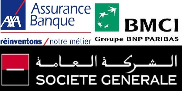 Recrutement (3) postes chez BMCI ، AXA Assurance ، Société Générale ، توظيف (3) منصب