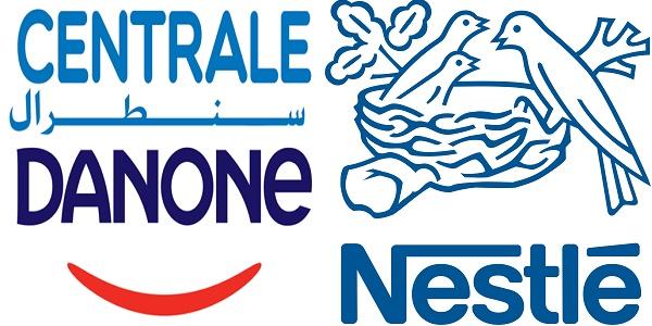 Recrutement (5) postes chez Centrale Danone et Nestlé ، توظيف (5) منصب