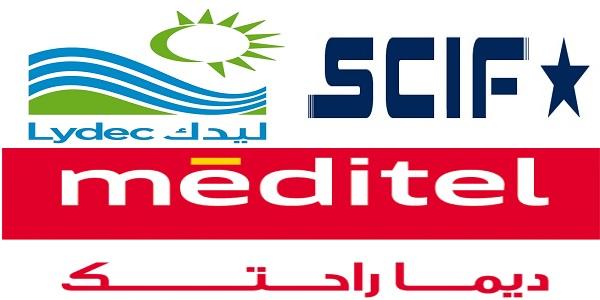 Recrutement (4) postes chez Méditel , SCIF et Lydec , توظيف (4) منصب