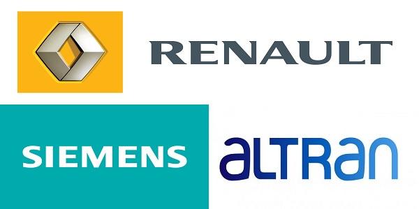 Recrutement (12) postes chez Renault , Altran et Siemens – توظيف (12) منصب