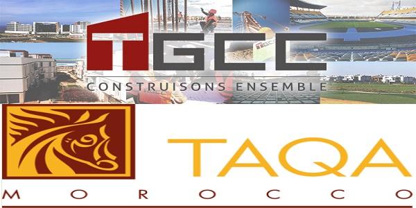 Recrutement (2) postes chez TGCC et Taqa Morocco ، توظيف (2) منصب