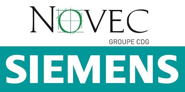 Recrutement (2) postes chez Novec et Siemens – توظيف (2) منصب