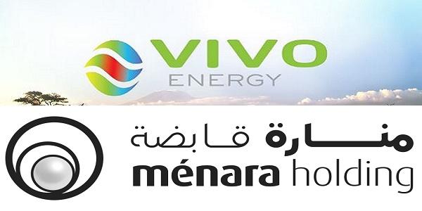 Recrutement chez Ménara et Vivo Energy – توظيف في العديد من المناصب
