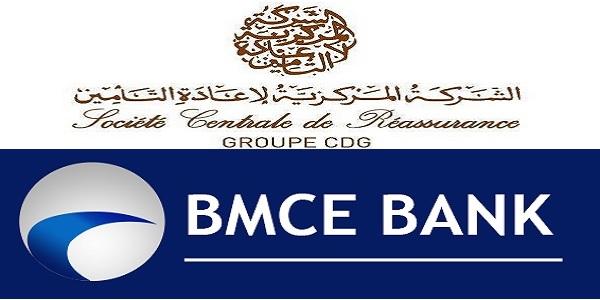 Recrutement chez Société Centrale de Réassurance et BMCE Bank ، توظيف في العديد من المناصب