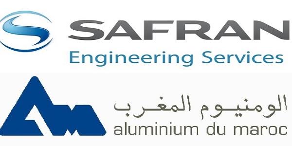 Recrutement (2) postes chez Safran Engineering et Aluminium Du Maroc – توظيف (2) منصب