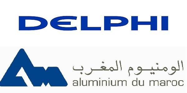 Recrutement (3) postes chez Delphi et Aluminium Du Maroc – توظيف (3) منصب