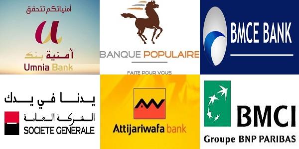 قائمة عناوين البريد الإلكتروني للبنوك في المغرب
