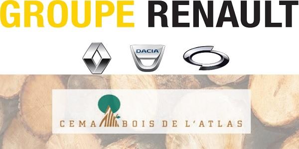 Recrutement plusieurs postes chez Renault et Cema  Bois de l'Atlas – توظيف عدة مهندسين
