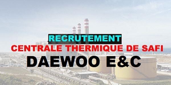 recrutement chez daewoo e u0026c  chefs d u0026 39  u00e9quipe
