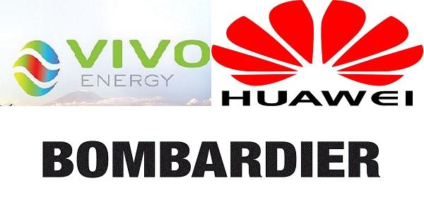 (32) Offres de stage chez Huawei, Vivo Energy et Bombardier