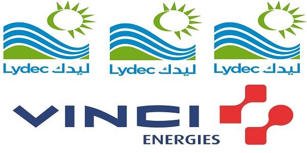 Recrutement (3) postes chez Lydec et Vinci Energies (Electricité – Maintenance – Industriel) – توظيف (3) منصب