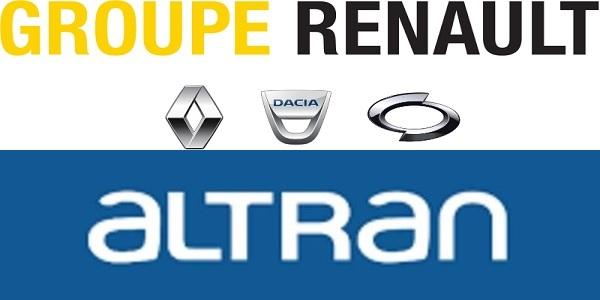 Recrutement (9) postes chez Renault et Altran (Analystes Qualité Juniors – Chefs d'équipes Production – Responsables Codification) – توظيف (9) منصب