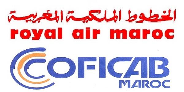 recrutement  4  postes chez coficab et royal air maroc