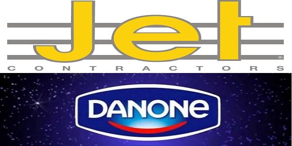 Recrutement (5) postes chez Danone et Jet Contractors – توظيف (5) منصب
