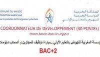 جديد.. مباراة توظيف ابتداء من البكالوريا بالمؤسسة المغربية للنهوض بالتعليم الأولي برسم سنة 2021/2022