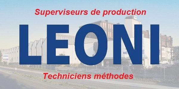 Recrutement de Techniciens débutants en Génie Mécanique chez Leoni – توظيف في العديد من المناصب