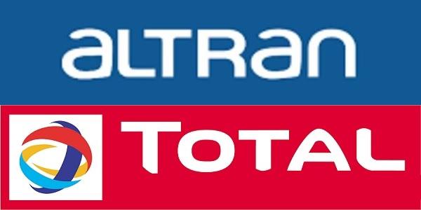 Recrutement chez Total & Altran (Achat – Maintenance – Électromécanique – Méthodes) – توظيف عدة مهندسين و تقنيين في