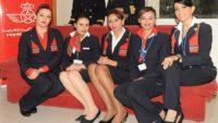عـــــاجل: إعلان عن حملة توظيف مظيفي طيران ذكور وإناث بالخطوط الملكية المغربية ابتداء من DEUG أو الدبلوم. الترشيح قبل 26 نونبر 2019