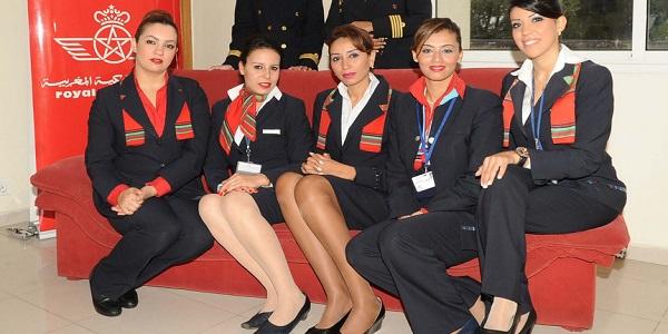 عـــــاجل: إعلان عن حملة توظيف مظيفي طيران ذكور وإناث بالخطوط الملكية المغربية ابتداء من DEUG أو الدبلوم