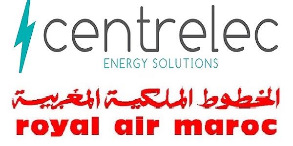 recrutement  4  postes chez centrelec et royal air maroc
