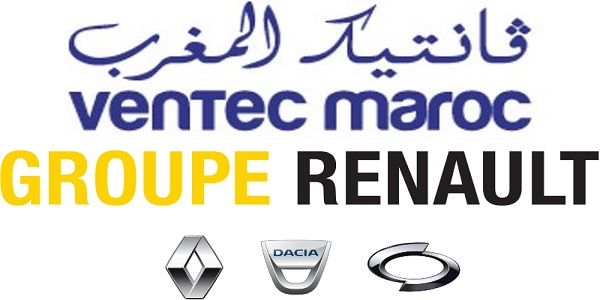 Recrutement chez RENAULT & VENTEC (Responsable logistique – Comptable Trésorier – Techniciens  Electricité de Maintenance) – توظيف في العديد من المناصب