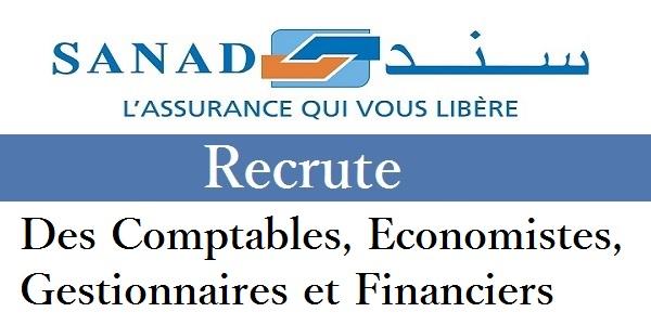 مجموعة Sanad Assurance : حملة توظيف لشباب المغرب حاملي الشواهد باك+2 باك+3 باك+4 باك+5