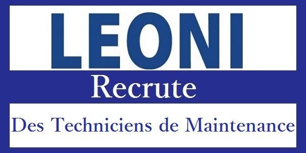 Recrutement des Techniciens de Maintenance chez Leoni Bouznika – توظيف في العديد من المناصب