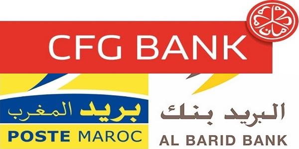 Recrutement chez Al Barid Bank et CFG Bank (Finance – Gestion – Marketing – Informatique) – توظيف (4) منصب