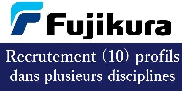 شركة Fujikura Automotive Kenitra تعلن عن حملة توظيف عدة مهندسين و تقنيين في عدة تخصصات