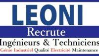 شركة Leoni Bouskoura تعلن عن حملة توظيف عدة مهندسين و تقنيين في: مراقبة الجودة والسلامة، الميكانيك، الكهرباء، الصيانة،…