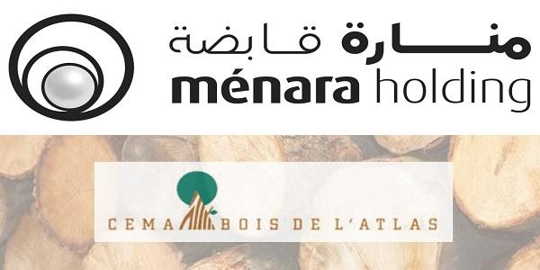 Recrutement chez Menara Holding & Cema Bois de l'Atlas (Chef d'équipe Production – Administrateur des ventes) – توظيف (2) منصب