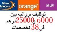 هام للشباب العاطل.. توظيف برواتب بين 6000 و25000 درهم في 38 تخصصات