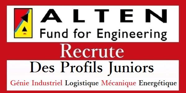 شركة Alten Fès & Rabat & Casablanca تعلن عن حملة توظيف عدة مهندسين و تقنيين في عدة تخصصات