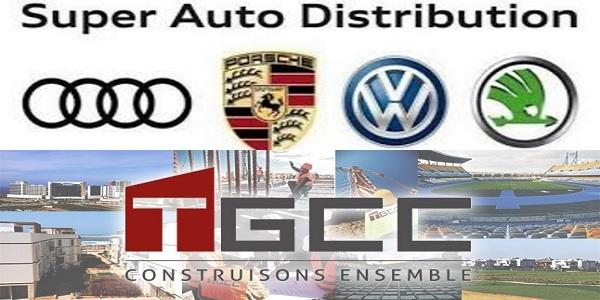 Recrutement chez TGCC & Super Auto Distribution (Contrôleur financier – RH – Ingénieur travaux junior) –  تعلن عن حملة توظيف في عدة تخصصات