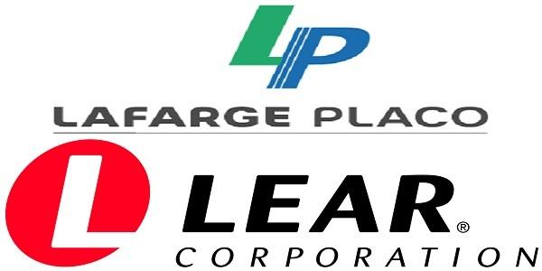 Recrutement chez Lear corporation & Lafarge Placo (Ingénieur HSE- Technicien Industriel – Technico commercial) – توظيف في العديد من المناصب