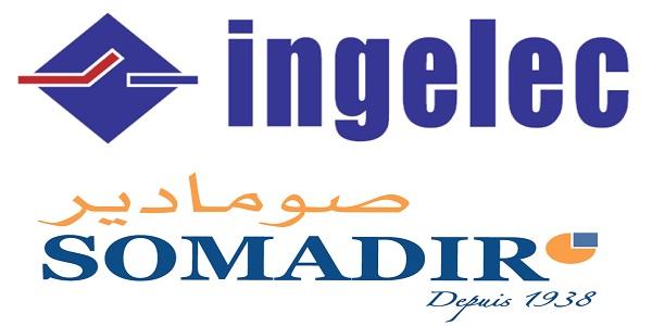 Recrutement chez Ingelec & Somadir (Ingénieur génie Electrique – Chef d'Equipe Production – Coordinateur HSE) – توظيف (3) منصب