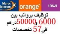 هام للشباب العاطل.. توظيف برواتب بين 6000 و50000 درهم في 57 تخصصات