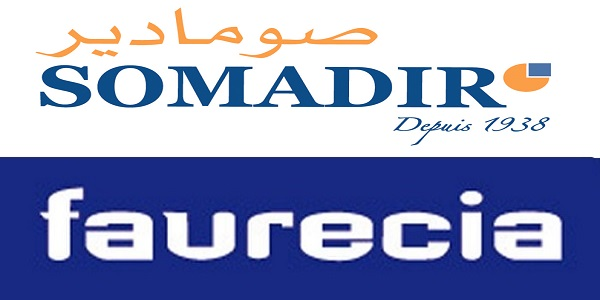 Recrutement chez Faurecia & Somadir (Planificateur – Master scheduler – Agent Commercial) – توظيف في العديد من المناصب