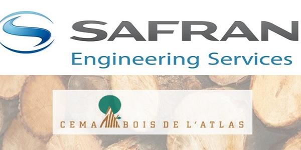 Recrutement chez Safran Engineering & Cema Bois de l'Atlas (Ingénieur Industriel – Ingénieur processus) – توظيف (2) منصب