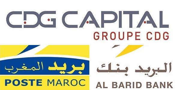 Recrutement chez Al Barid Bank & La Caisse de Dépôt et de Gestion (Chargé de télécompensation – Gestionnaire des réclamations) – توظيف في العديد من المناصب