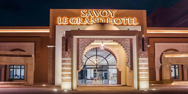 براتب ابتداء من 4000 درهم .. فندق Savoy le Grand Hôtel Marrakech & Hôtel Marchica Lagoon Resort إعلان عن حملة توظيف في عدة تخصصات