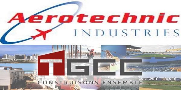 شركة TGCC & Aeorotechnic Industries تعلن عن حملة توظيف عدة مهندسين و تقنيين في عدة تخصصات