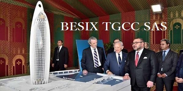 شركة BESIX TGCC SAS تعلن عن حملة توظيف عدة مهندسين و تقنيين في عدة تخصصات