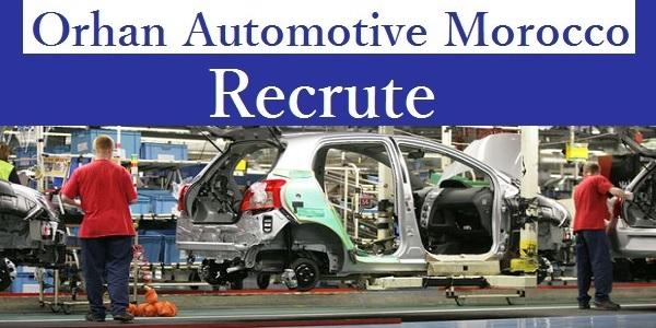 """شركة """" Orhan Automotive Morocco """" تعلن عن حملة توظيف في عدة تخصصات .. لبعث سيرتكم الذاتية إليكم الرابط أدناه"""
