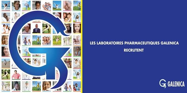 للباحثين عن عمل … شركة Laboratoires Pharmaceutiques Galenica حملة توظيف واسعة لفائدة الشباب العاطل